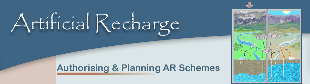 authorising & planning AR Schemes